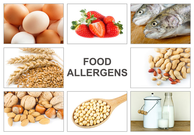 Food Allergies-Please Inform Our Staff If You Have One!!!